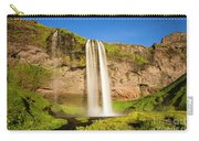 Seljalandsfoss In Iceland Carry-all Pouch