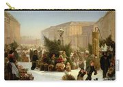 Selling Christmas Trees Carry-all Pouch by David Jacobsen