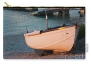 Sennen Cove Boat At Sunset Carry-all Pouch