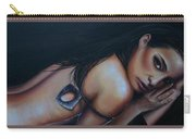 Sensual, Nude Portrait Art Carry-all Pouch