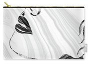 Sensual Portrait Art - Marbled Seduction - Sharon Cummings Carry-all Pouch