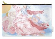 Separation Of The Planets Sistine Chapel Michelangelo Carry-all Pouch