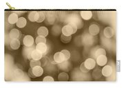 Sepia Bokeh Carry-all Pouch