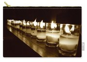Sepia Candles Carry-all Pouch