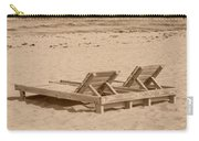 Sepia Chairs Carry-all Pouch