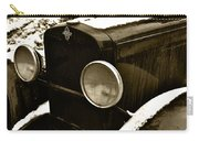 Sepia Chevy Carry-all Pouch