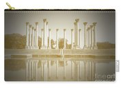 Sepia Columns Carry-all Pouch