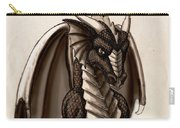 Sepia Dragon Carry-all Pouch