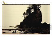 Sepia High Contrast Rialto Beach Carry-all Pouch