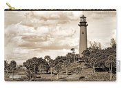Sepia Lighthouse Carry-all Pouch