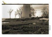 Sepia Marblehead Lighthouse Carry-all Pouch