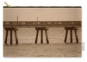 Sepia Pier Carry-all Pouch