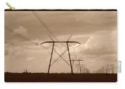 Sepia Power Carry-all Pouch