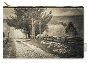 Sepia Road Carry-all Pouch
