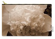 Sepia Series - Peony Carry-all Pouch