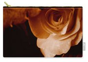 Sepia Series - Rose Petals Carry-all Pouch