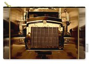 Sepia Toned Kenworth Abstract Carry-all Pouch