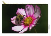 September Bee On Cosmos Carry-all Pouch