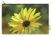 September Sunny Daisy Carry-all Pouch