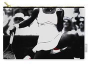 Serena Williams Victory Carry-all Pouch by Brian Reaves