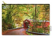 Serendipity - Painted 2 Carry-all Pouch