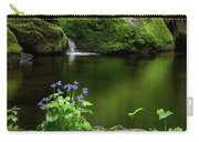 Serene Green Carry-all Pouch