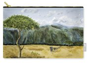 Serengeti Painting Carry-all Pouch