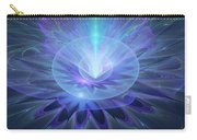 Serenity Abstract Fractal Carry-all Pouch