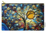 Serenity Falls By Madart Carry-all Pouch by Megan Duncanson