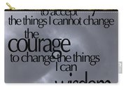 Serenity Prayer 05 Carry-all Pouch