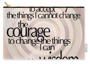 Serenity Prayer 06 Carry-all Pouch