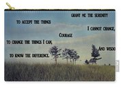 Serenity Prayer Field Carry-all Pouch