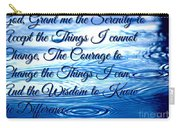 Serenity Prayer Carry-all Pouch