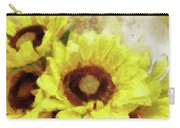 Serenity Sunflowers Carry-all Pouch