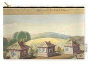 Sergei Sudeikin Russian 1882-1946 Stage Design Carry-all Pouch