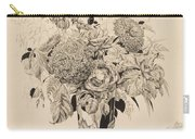 Sergey Vasilievich Chekhonin Russian 1878-1936 Flower Bouquet, 1935 Carry-all Pouch