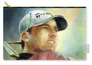 Sergio Garcia In The Castello Masters Carry-all Pouch