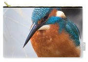 Serious Kingfisher Carry-all Pouch