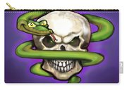 Serpent Evil Skull Carry-all Pouch