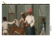 Servants Washing A Deer Carry-all Pouch