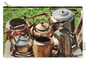 Set Of Ancient Teapots  Carry-all Pouch