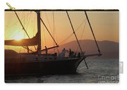 Set Sail On The Aegean At Sunset Carry-all Pouch