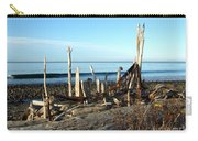 Seth's Seaside Driftwood Sculpture  Carry-all Pouch