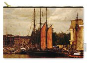 Setting Sail From Bristol Carry-all Pouch by Brian Roscorla