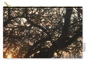 Setting Sun In Tree Carry-all Pouch