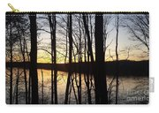 Setting Sun On Monroe Lake Bloomington Indiana Carry-all Pouch