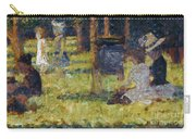 Seurat: Grande Jatte, 1884 Carry-all Pouch by Granger