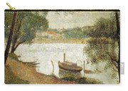 Seurat: Gray Weather Carry-all Pouch by Granger