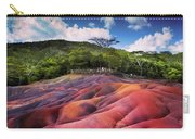 Seven Colored Earth In Chamarel. Mauritius Carry-all Pouch
