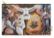 Seven-fold Spirit Of The Lord Carry-all Pouch